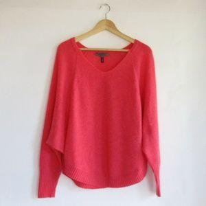 Quinn Cashmere Scoop Hem Dolman Sweater